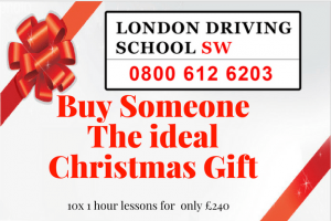 Give the gift of driving lessons this christmas
