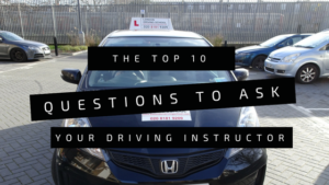 Top ten questions to ask your driving instructor in London