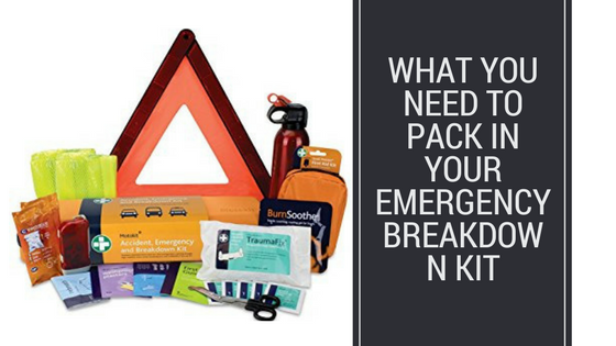 Emergency Breakdown Kit for your car